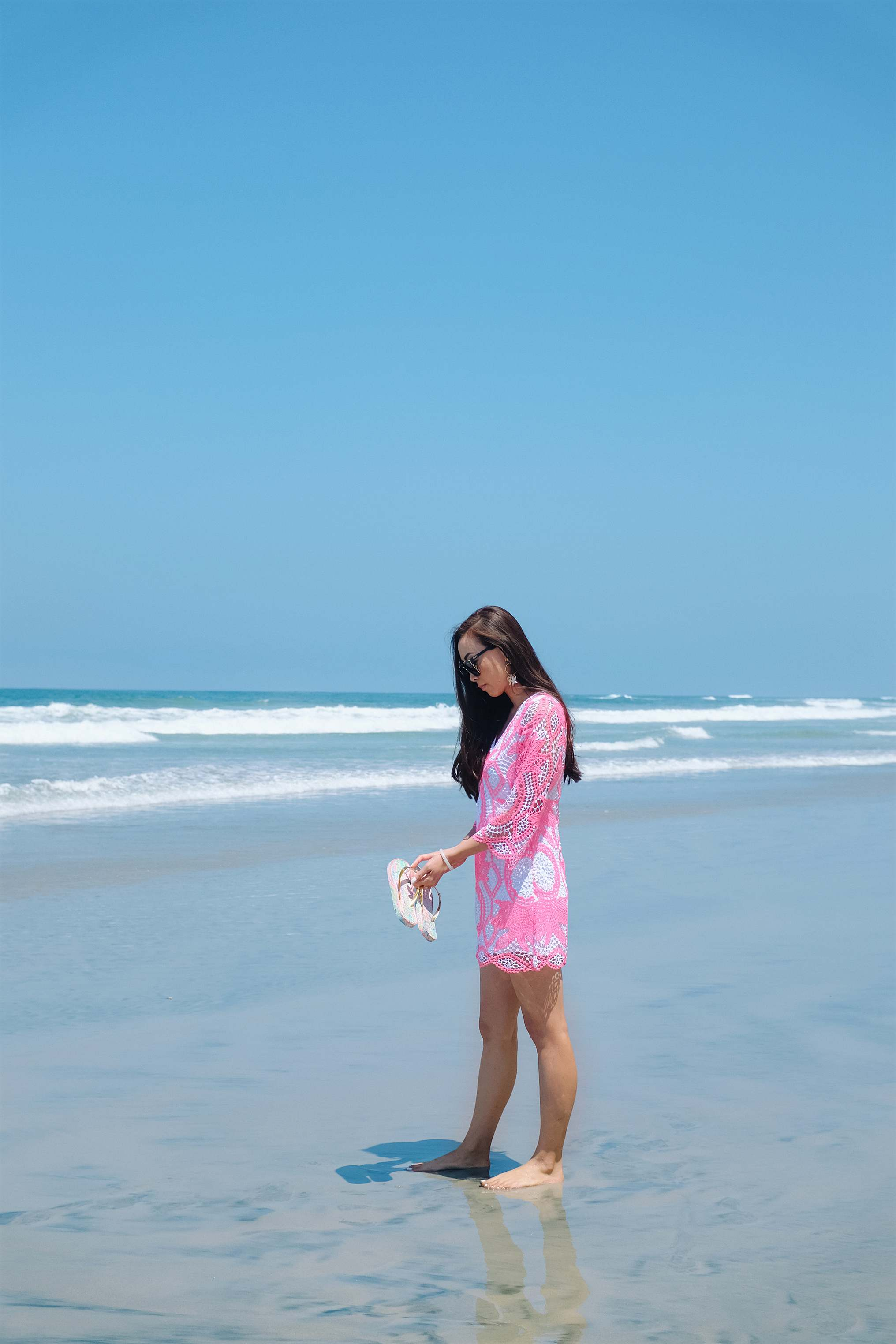 romper on the beach Lilly Pulitzer