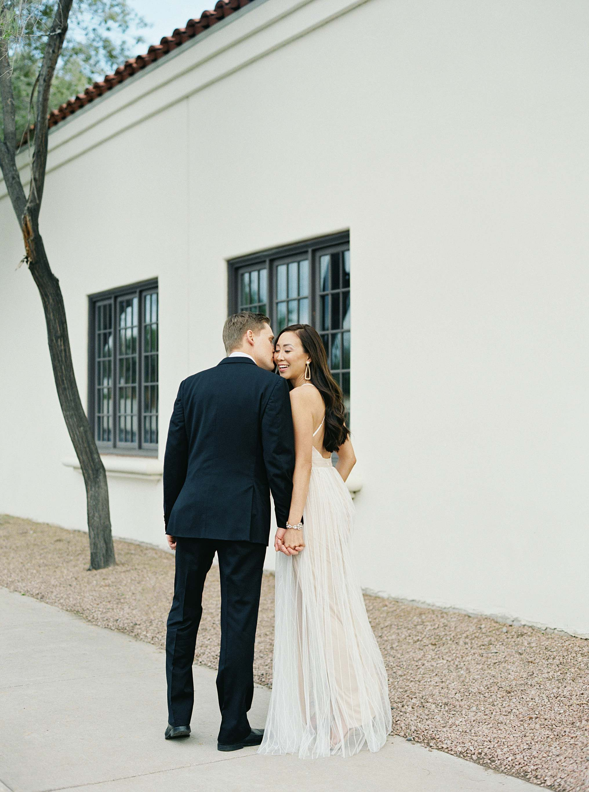 couples engagement pose engagement wedding shoot Inspo bridal engagement photo idea white tulle dress glam engagement shoot brandy Jackson film photographer lifestyle blogger Diana elizabeth