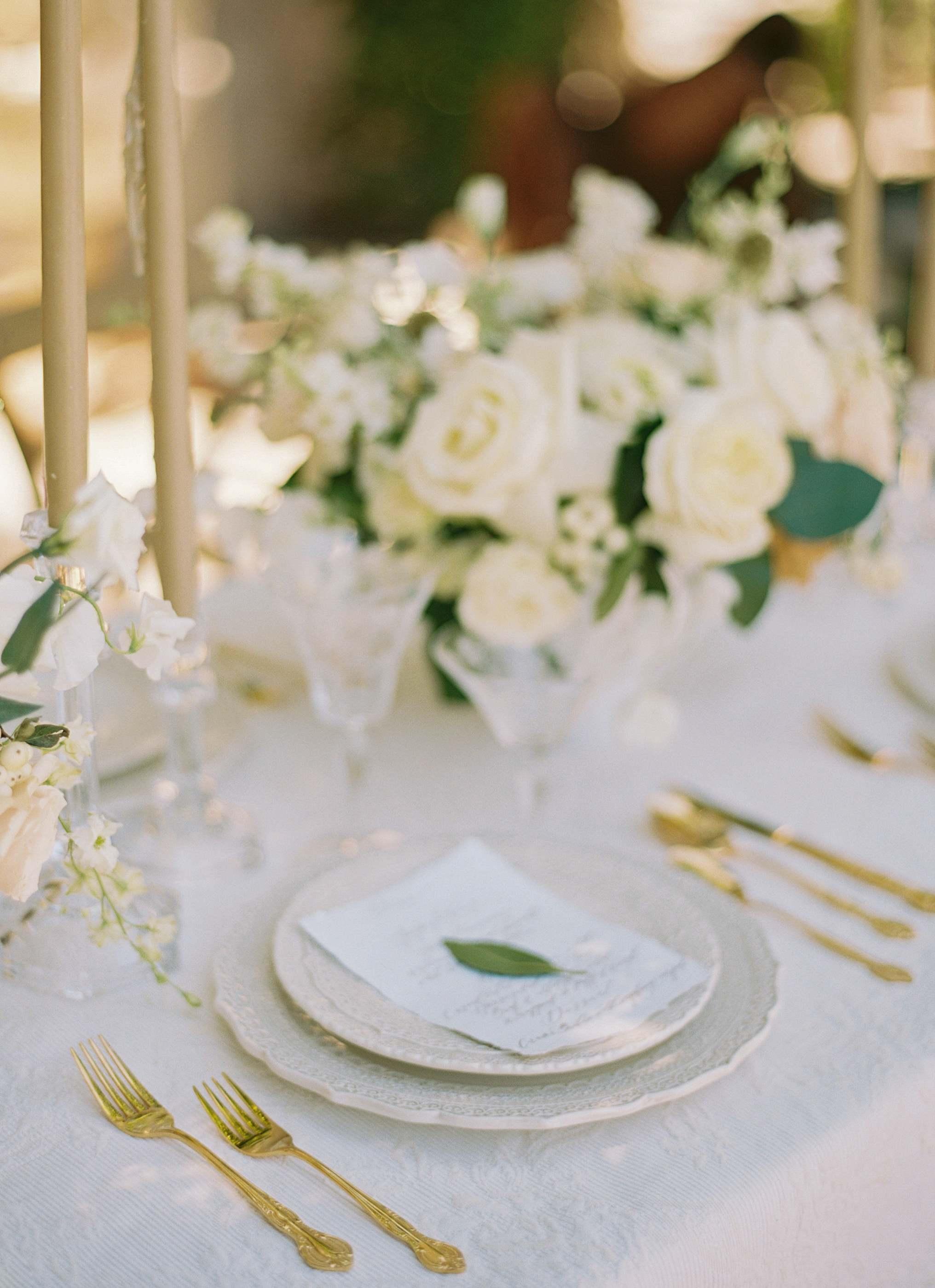 Table setting Ashley castle arizona