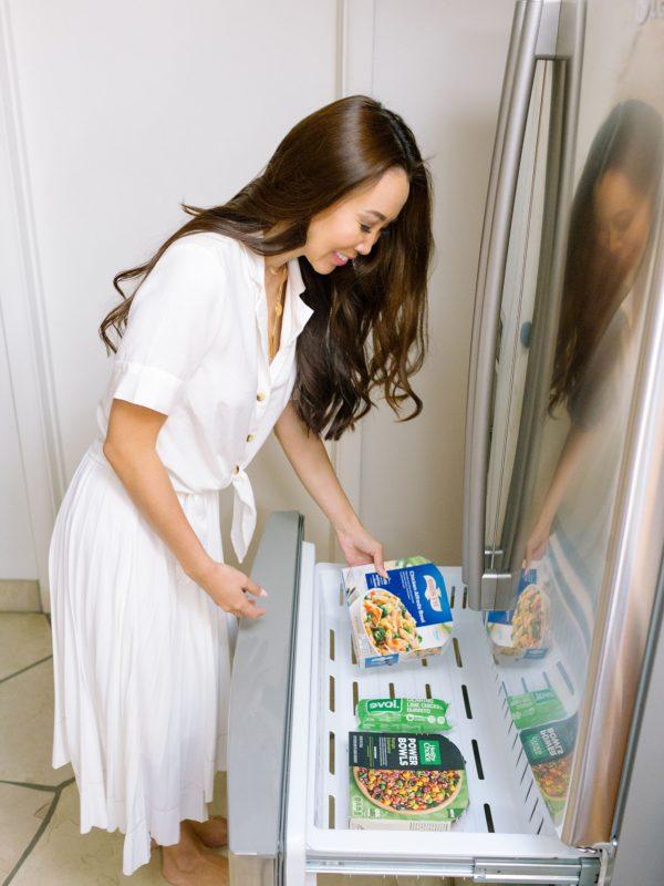 getting frozen foods