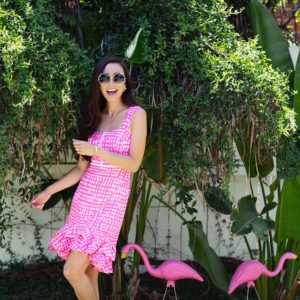 AVALYN STRETCH DRESS LillyPulitzer on lifestyle blogger Diana Elizabeth Phoenix arizona