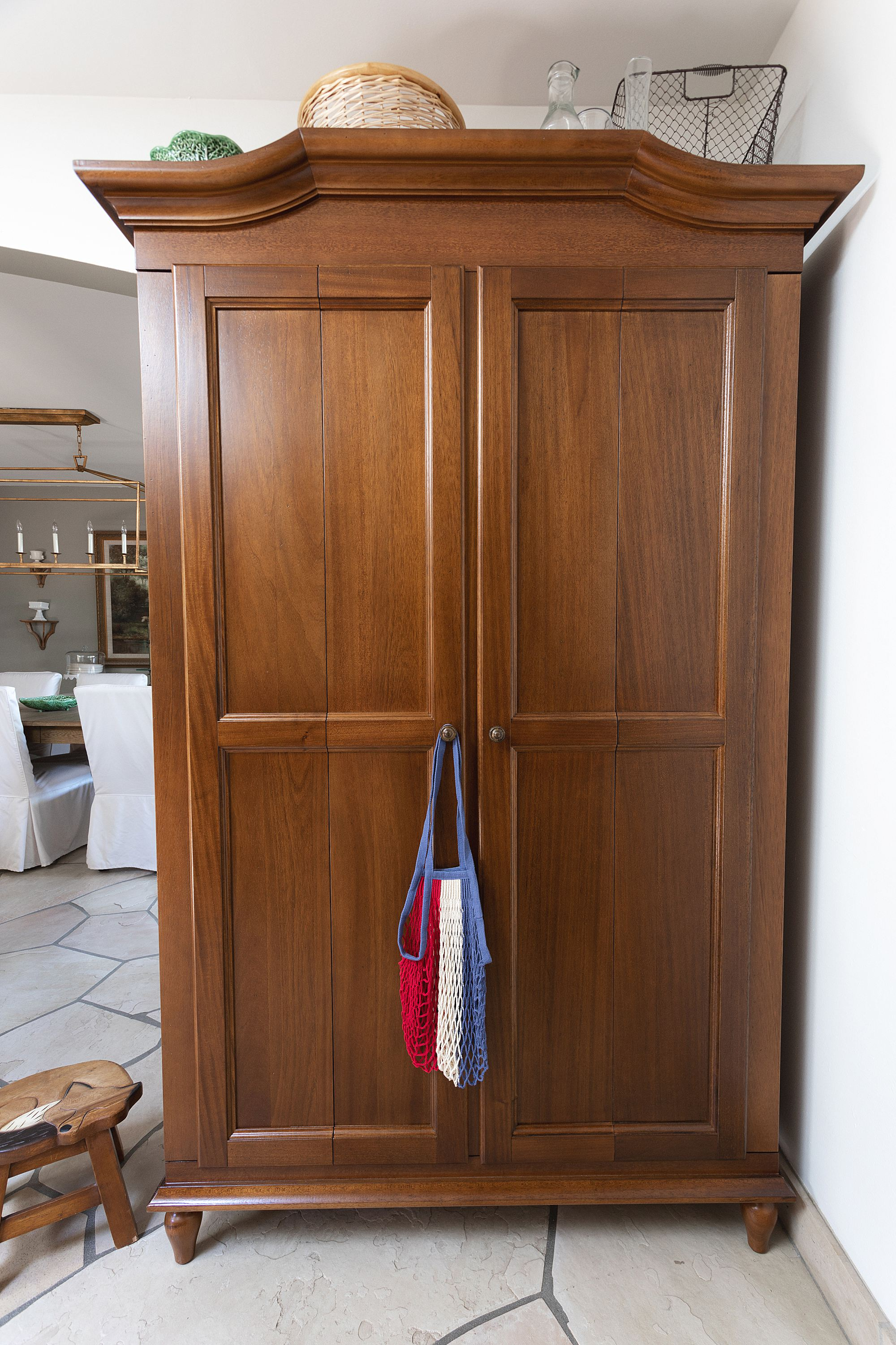 kitchen armoire pantry from Ballard Designs brown furniture wood