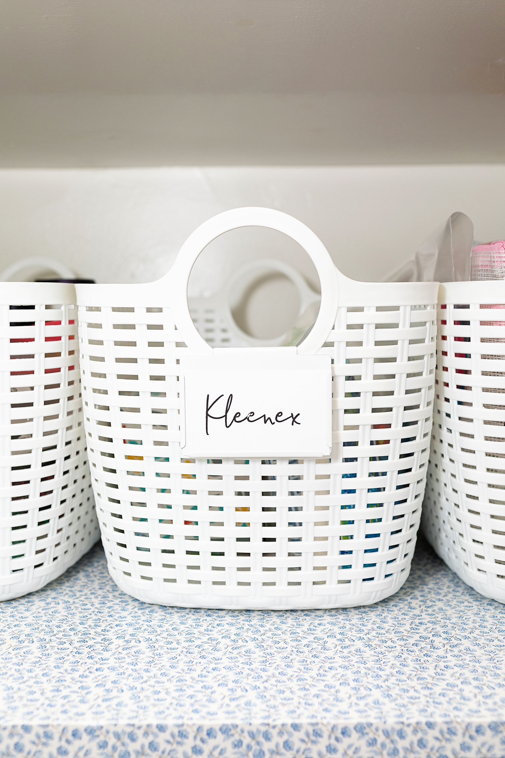 plastic bins for linen closet organization 99 cents store