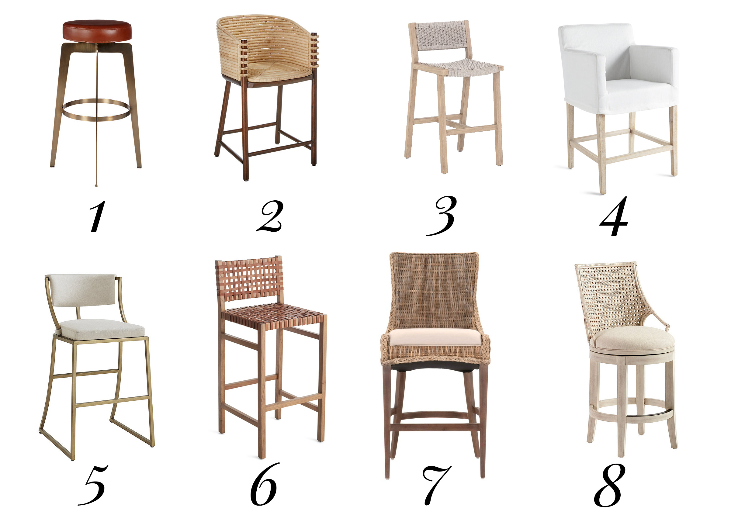 kitchen barstool ideas