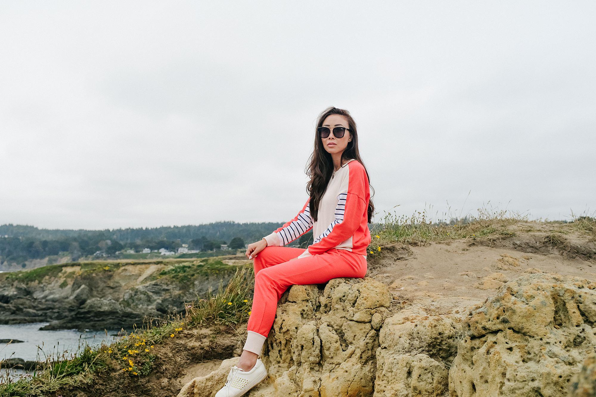 Mendocino County lookout points coastal views