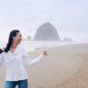 Diana Elizabeth at cannon beach Oregon