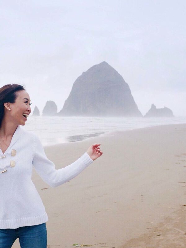 Diana Elizabeth at cannon beach Oregon