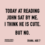 #thedianadiaries by blogger @dianaelizabeth_ www.dianaelizabethblog.com series of her childhood diaries