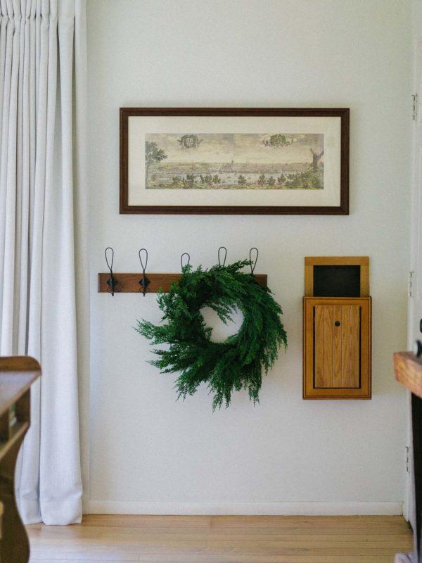 Realistic Cypress Wreath