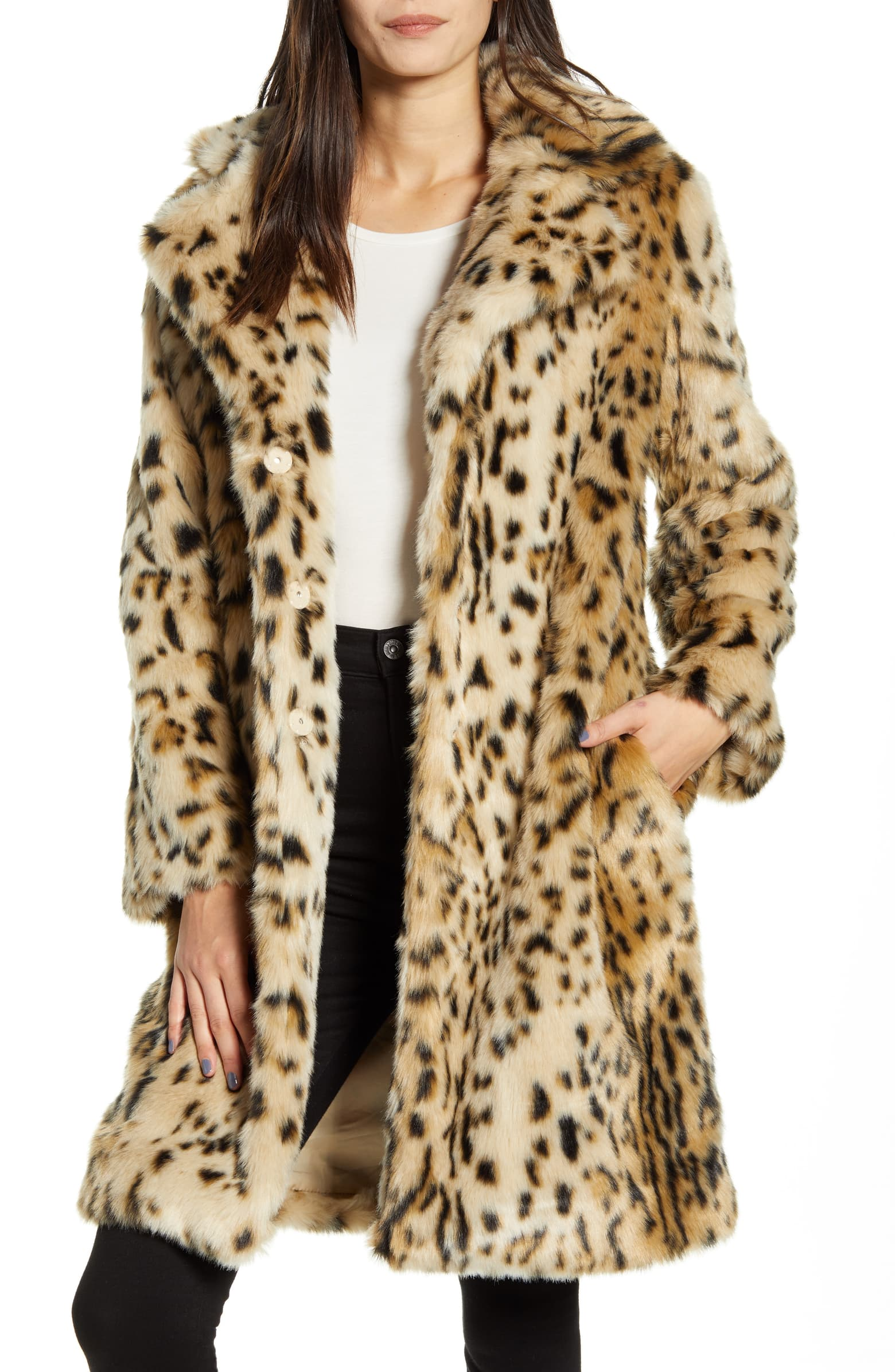 leopard print coats and jackets at every price point