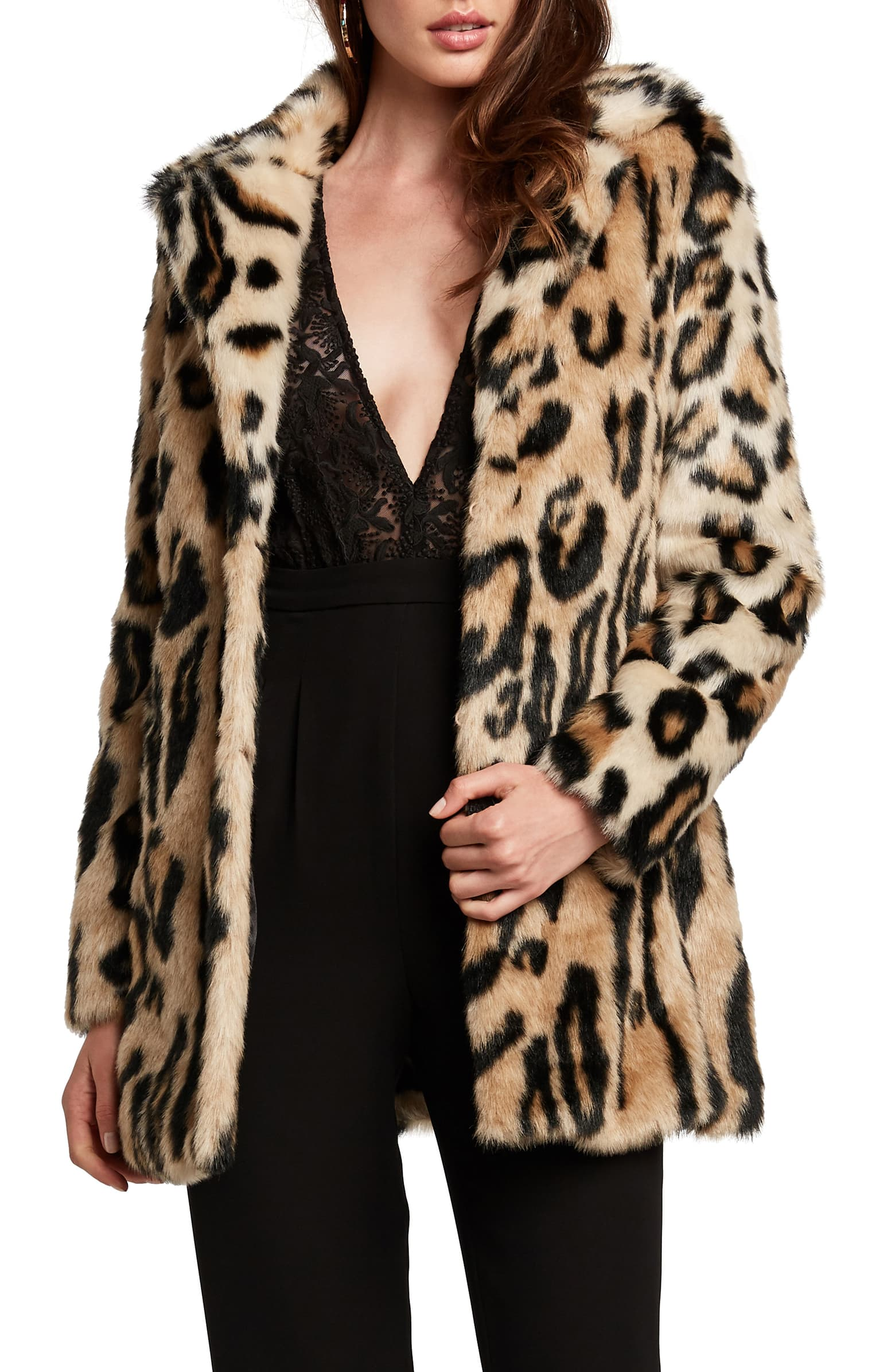 leopard print coat at every price point