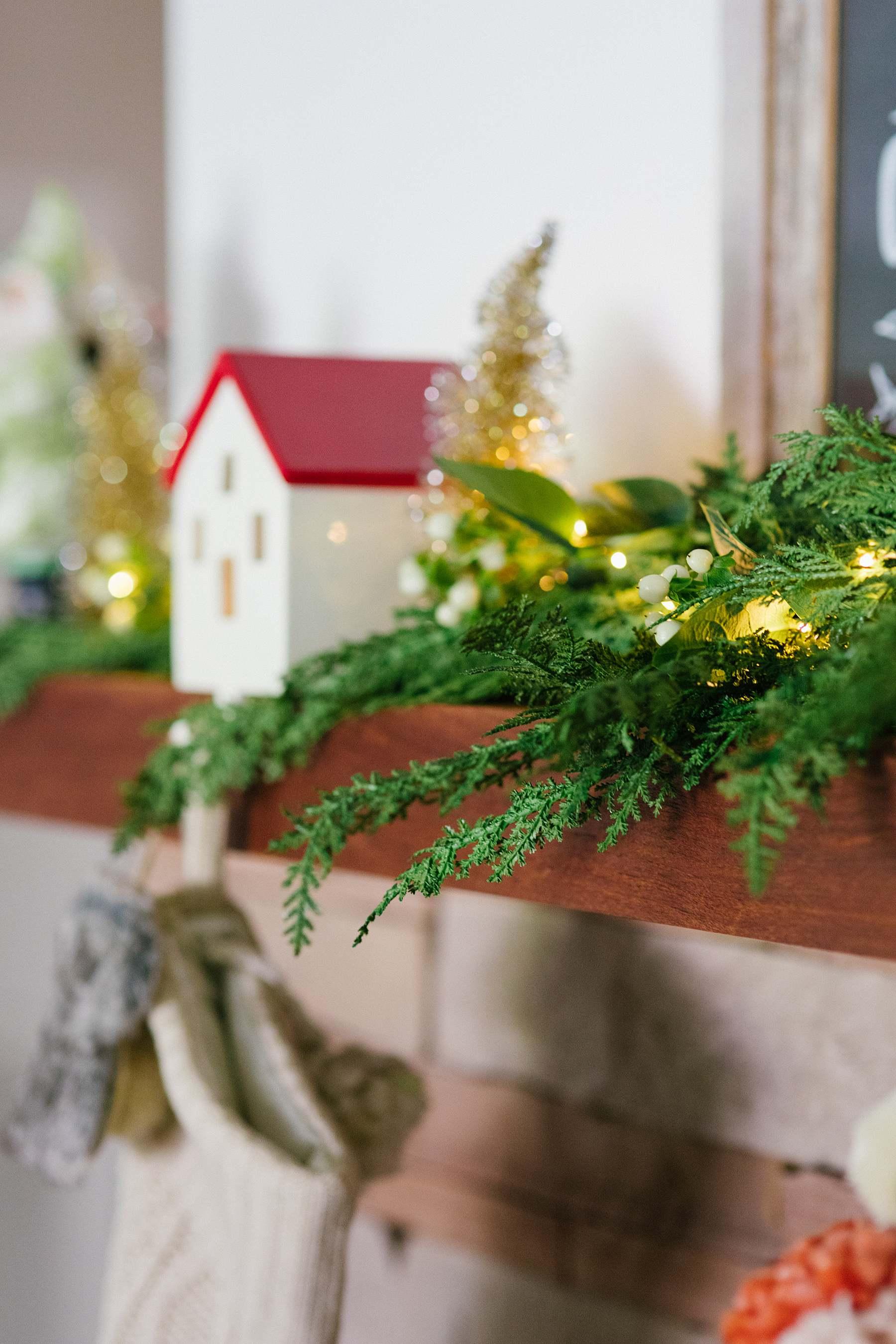 Realistic Cypress garland