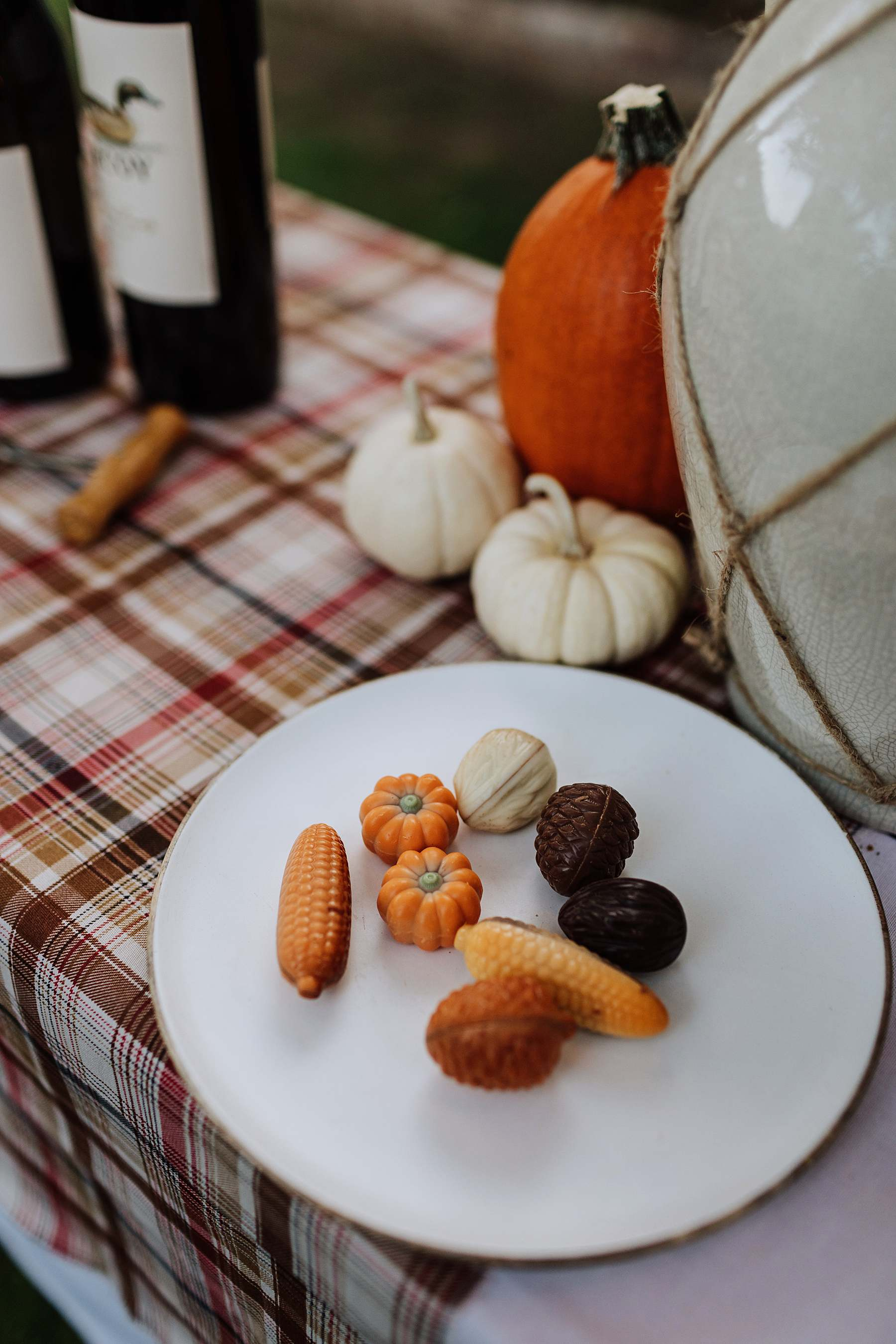 fall chocolates