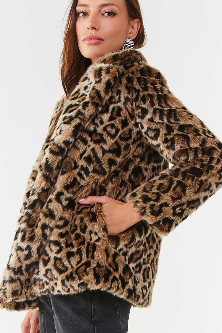 forever 21 leopard coat best leopard coats at every price point