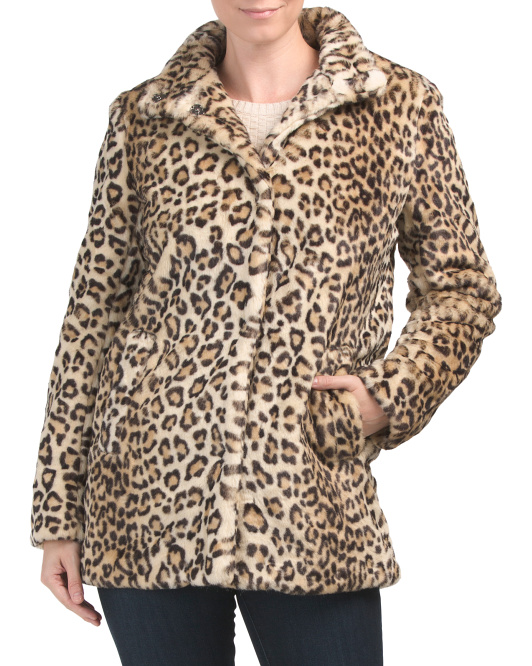 leopard print jackets and coats at every price point