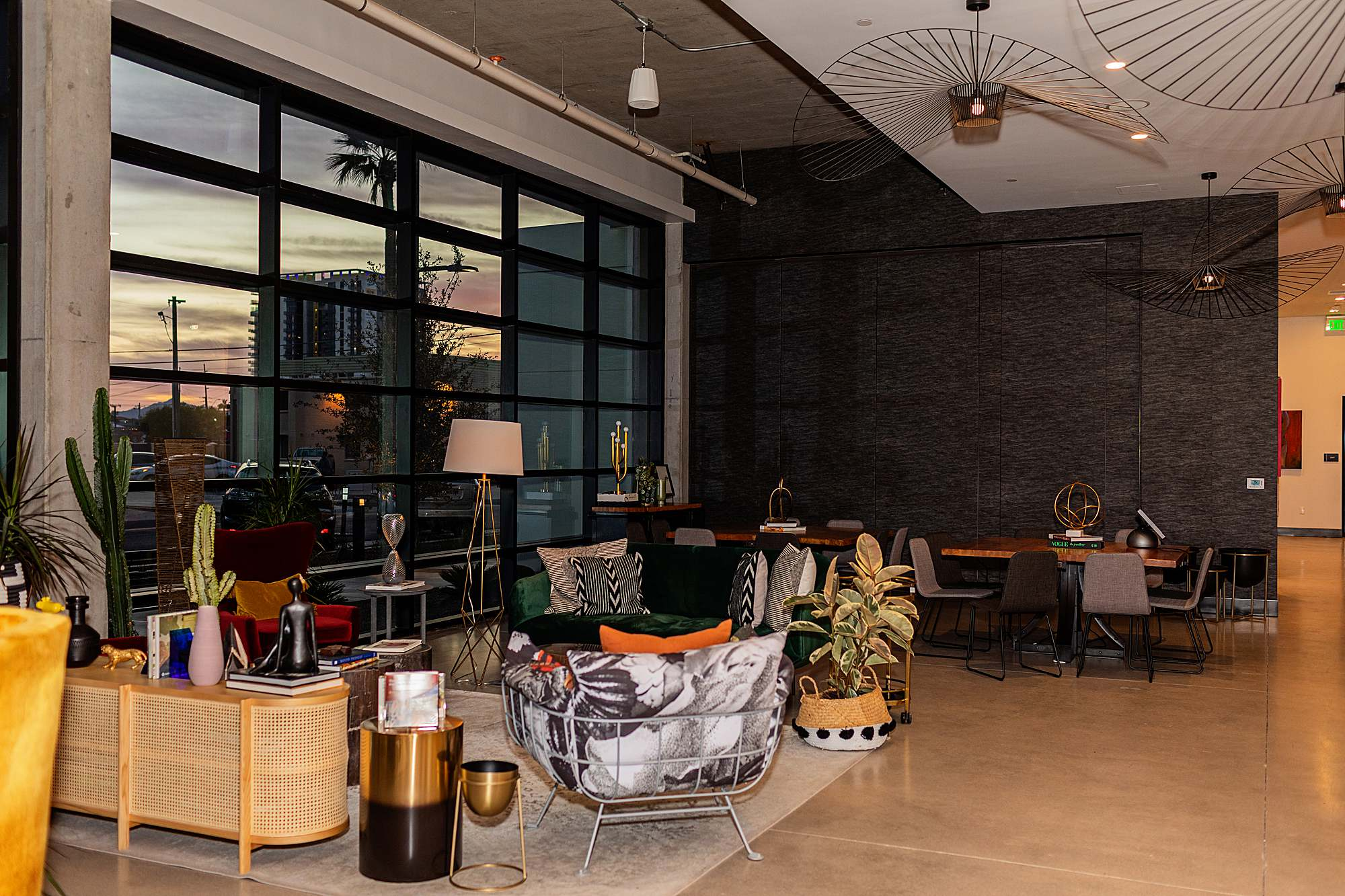 lobby of Cambria hotel downtown phoenix