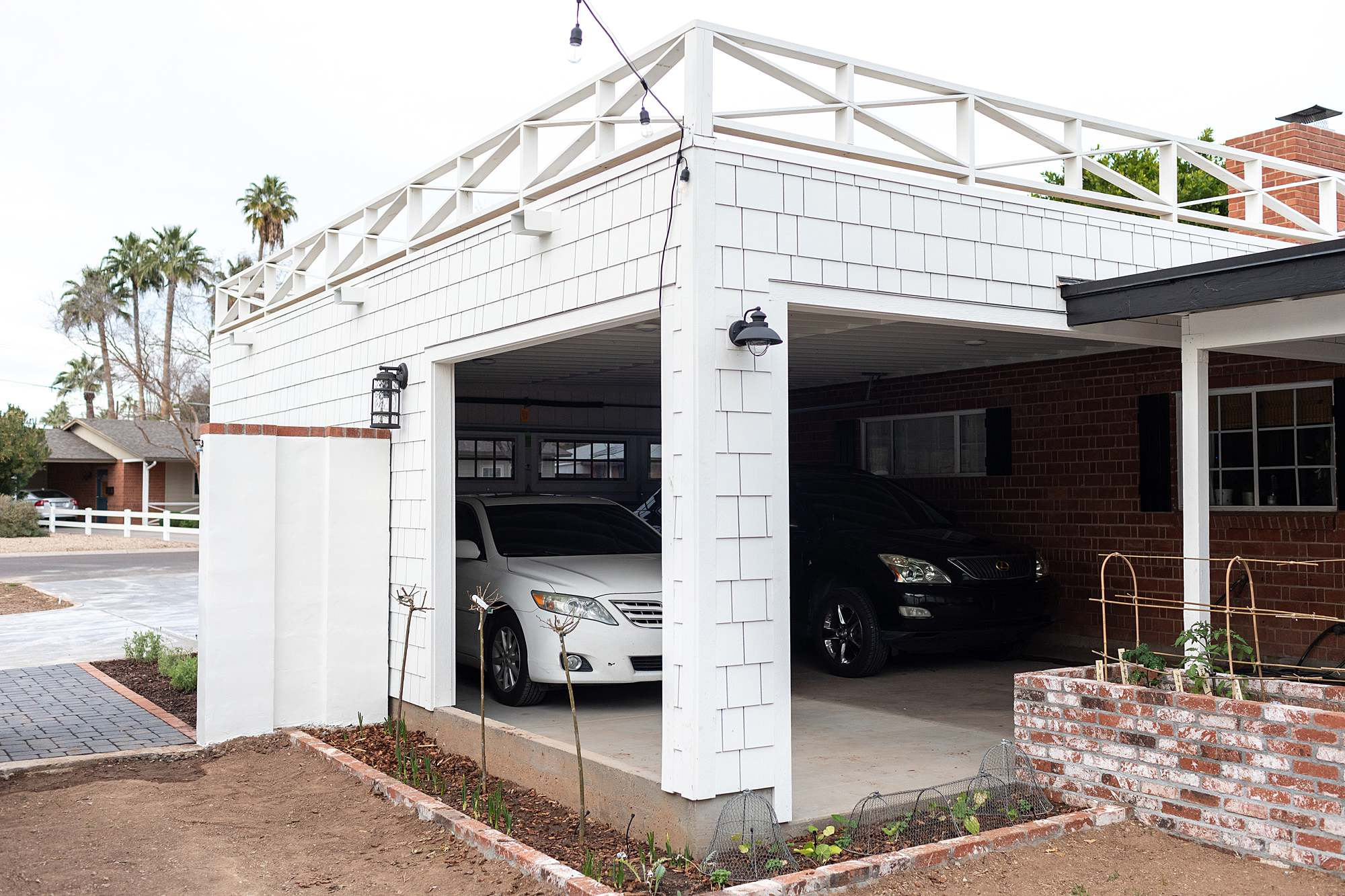 open air garage
