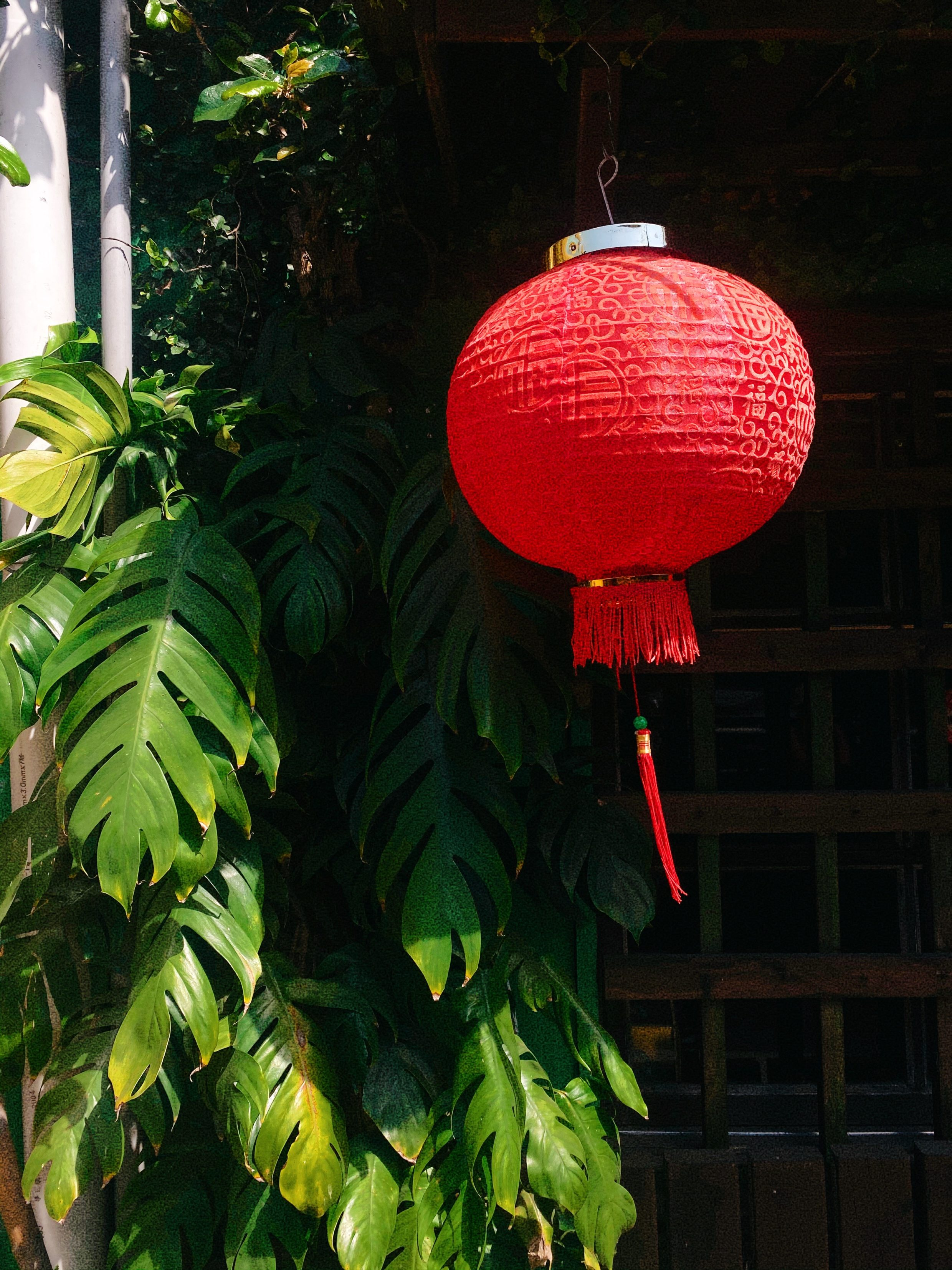 Red lantern in Taiwan