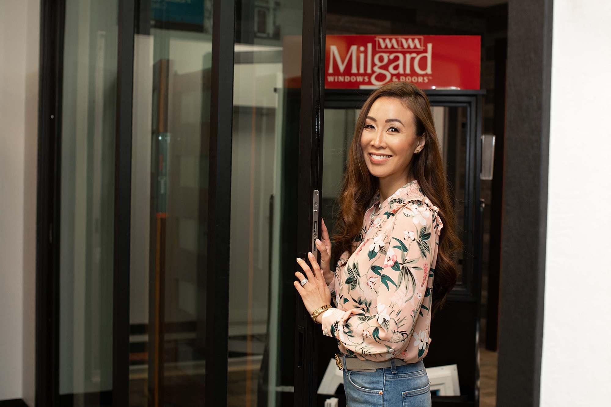 bifold stacking door best windows and doors Milgard arizona home blog Diana Elizabeth