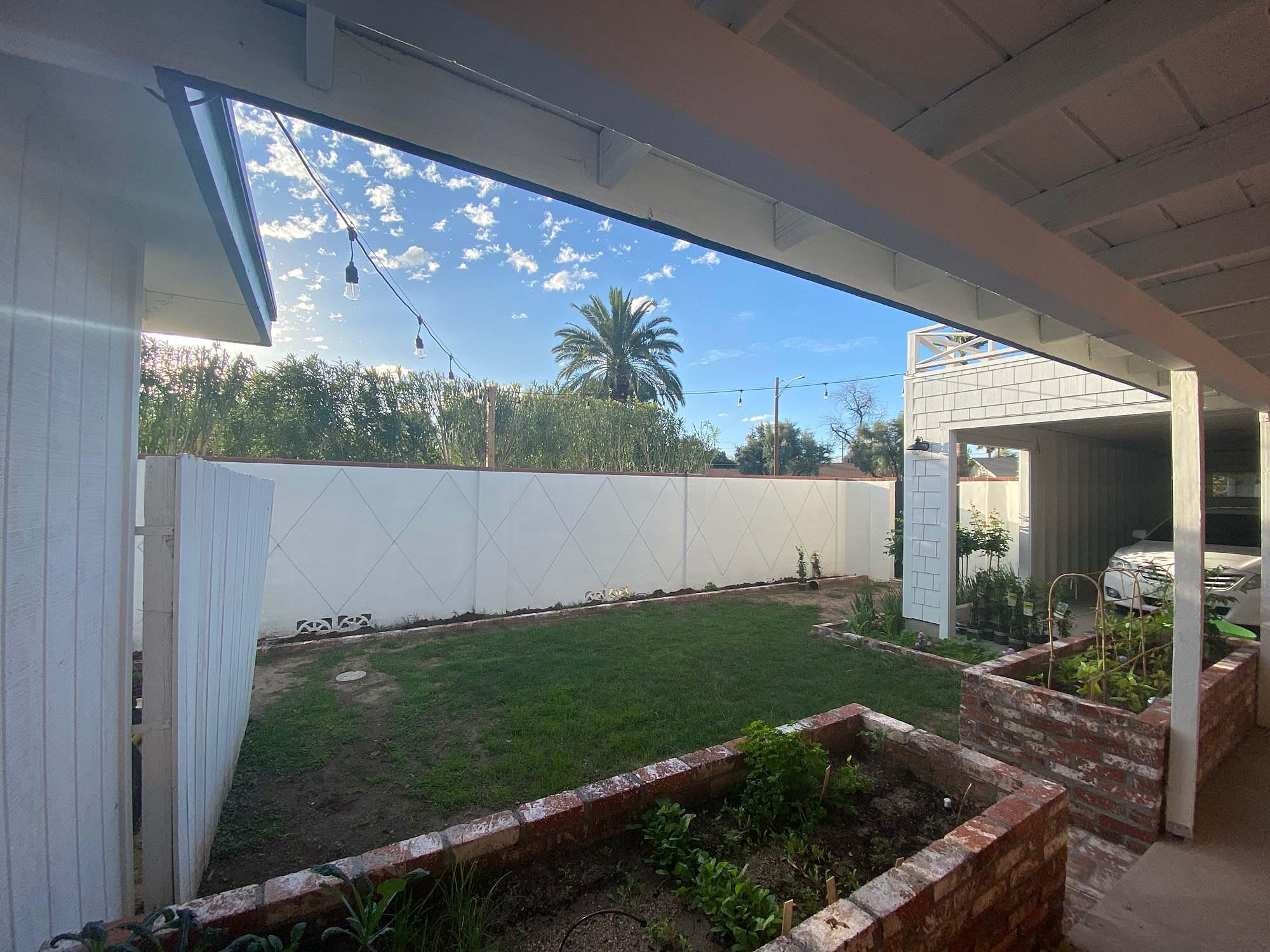 garden area progression see blog post for photos #garden