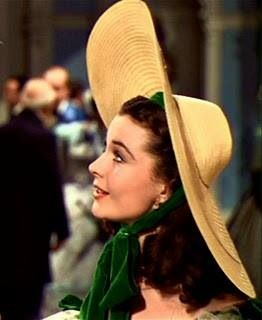 Scarlett O'Hara gone with the wind hat