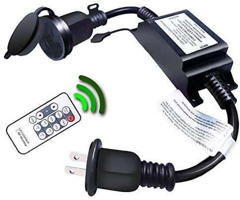 wireless remote dimmer outdoor