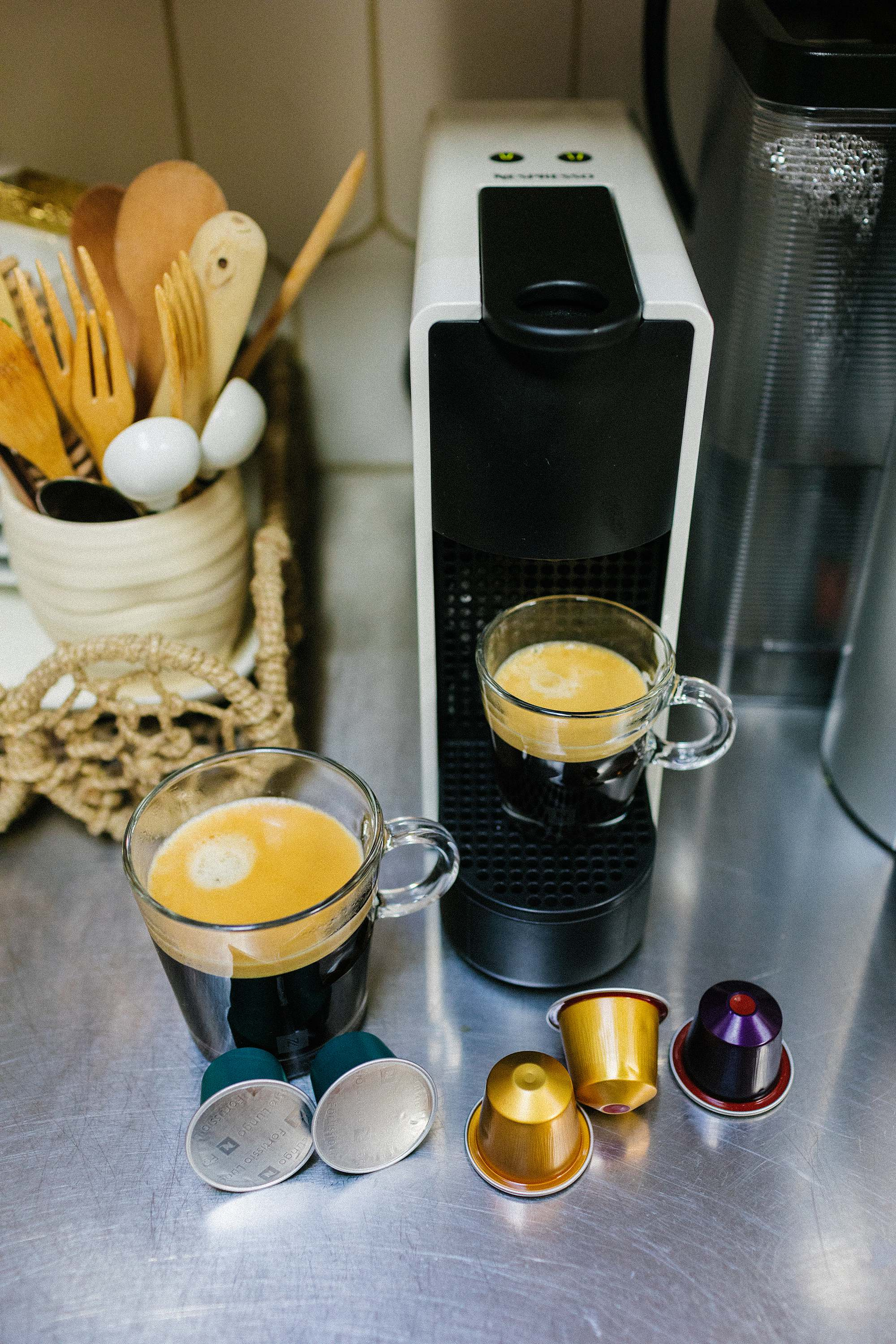 Nespresso machines filled how to use and a review