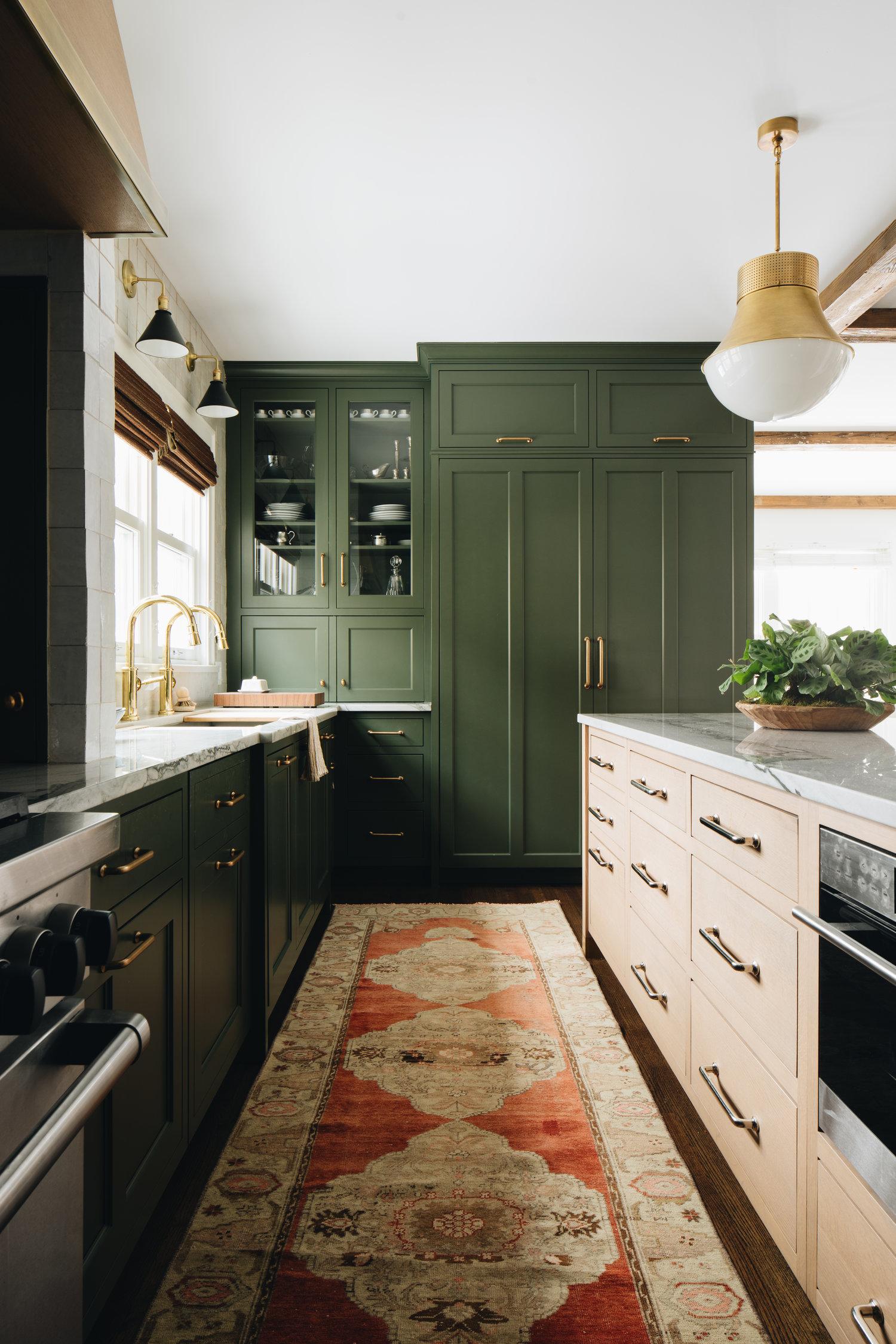 mixed metals in kitchen examples