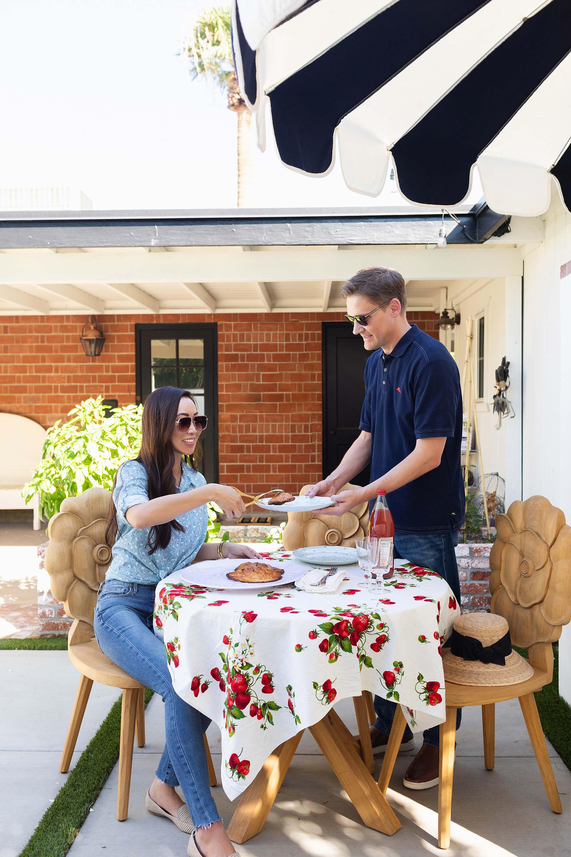 eating outdoors in kitchen garden outdoor eating rose flower teak chair