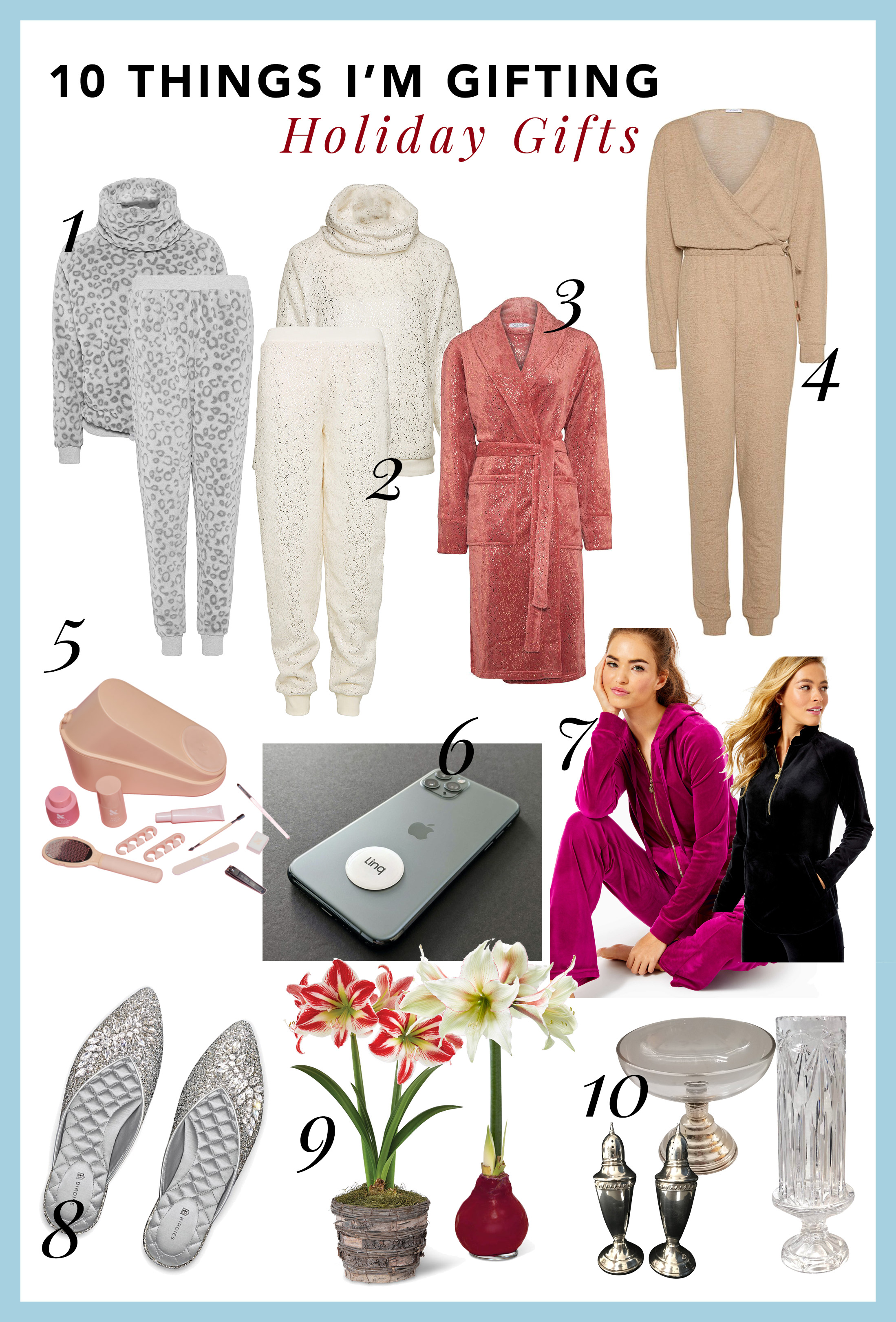 cozy and practical holiday Christmas gift ideas