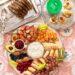 breakfast board ideas bagel cottage cheese fruit board