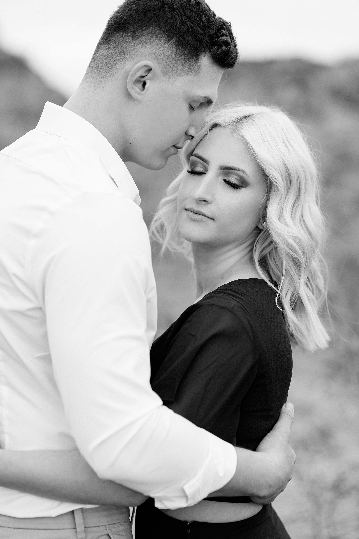 engagement session couple pose Phoenix Arizona engagement photographer