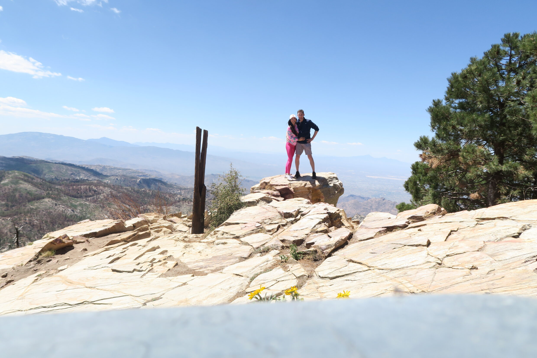 top of mount Lemmon tucson Arizona views