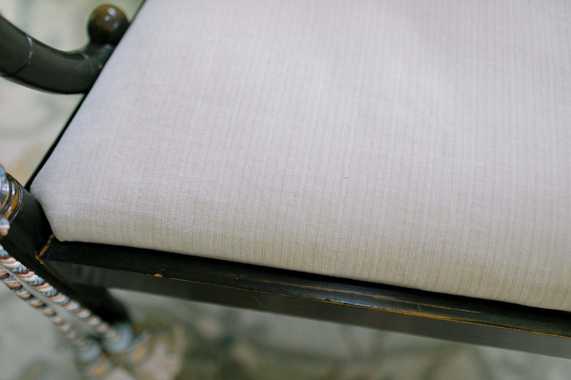 antique stre cotton blend fabric performance velvet Schumacher