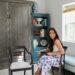 upholstered old chairs Diana Elizabeth blog top Arizona lifestyle home decor blogger