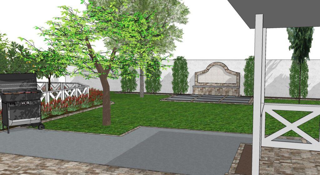 phoenix backyard landscape design English garden Inso
