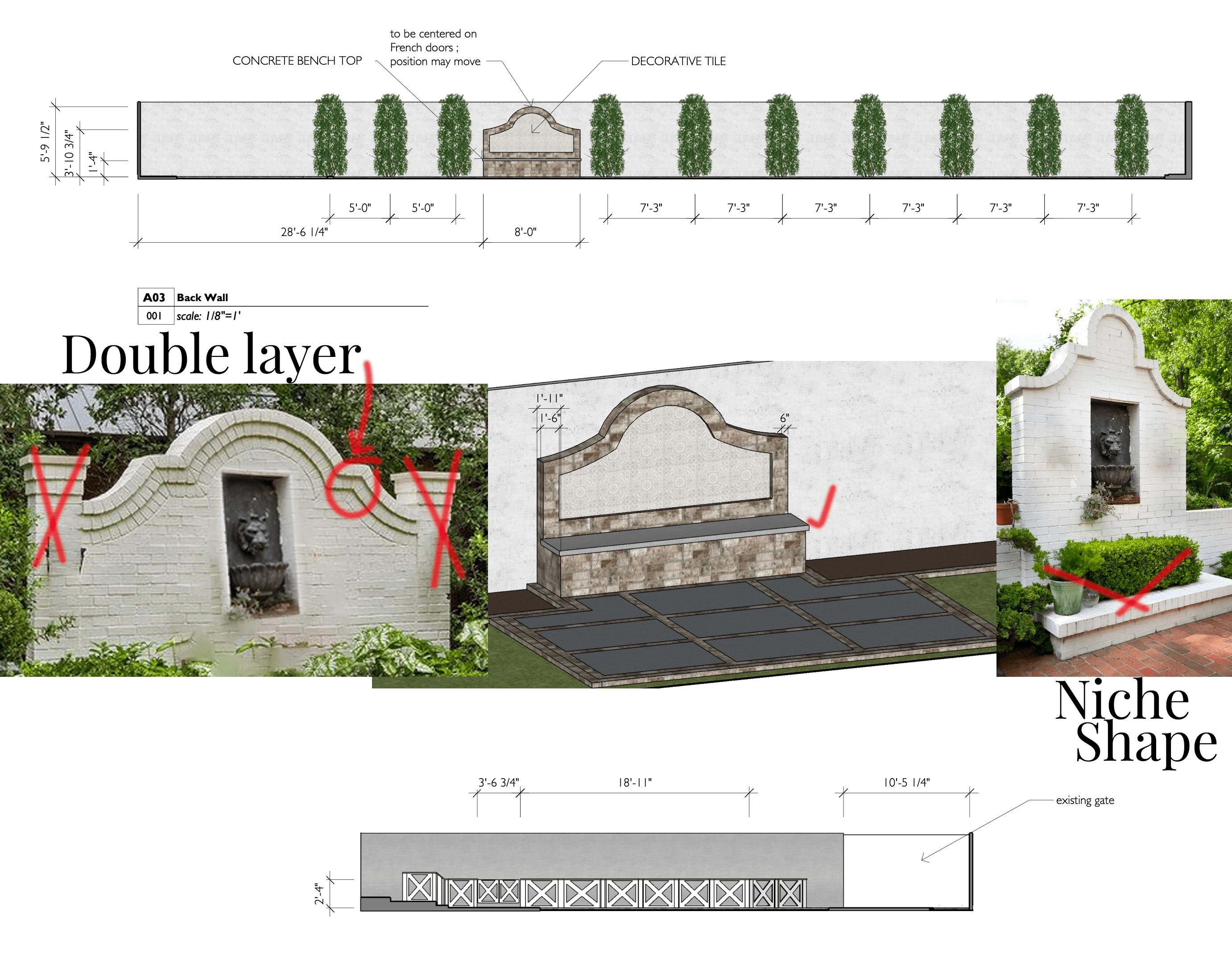 brick faux fountain ideas backyard brick traditional